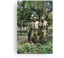 The Three Servicemen Canvas Print