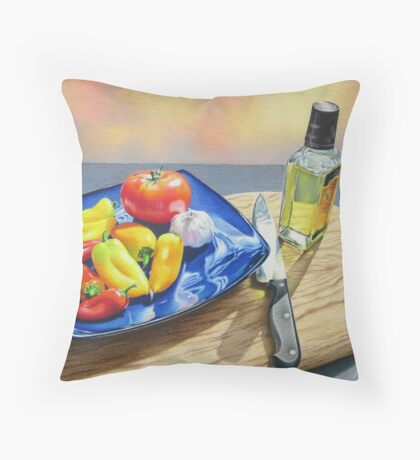 Ready for Salsa Throw Pillow
