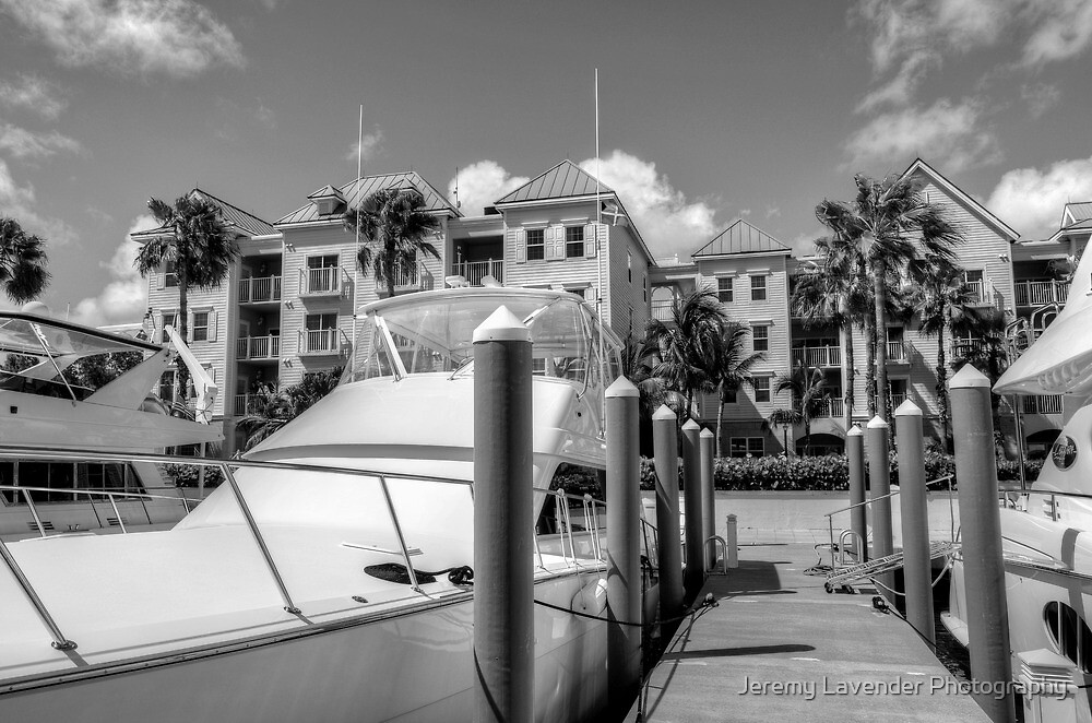 Marina at Harbour Village - Paradise Island, The Bahamas by Jeremy Lavender Photography