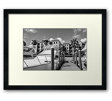 Marina at Harbour Village - Paradise Island, The Bahamas Framed Print