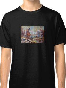Hallowe'en Comes to Town Classic T-Shirt