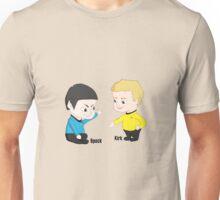 Star Trek - Little Kirk and Spock Unisex T-Shirt