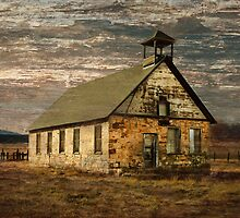 Old Stone Schoolhouse by Dawn Crouse