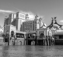 Atlantis in Paradise Island, Nassau, The Bahamas by 242Digital
