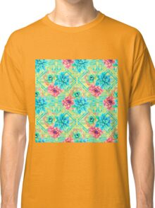 Spring Tribal Succulent Classic T-Shirt