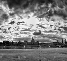 """Barok skyline"" (B&W) by Andreas Koerner"