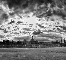 """Barok skyline"" (B&W) by Andreas Koerner"