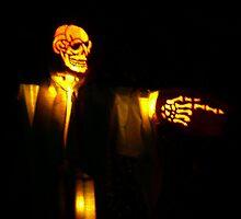 Pumpkin Spector - The Great Jack'O'Lantern Blaze by Jane Neill-Hancock