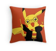 The New Kid in Gryffindor Throw Pillow