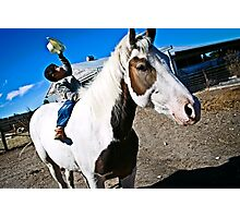 Cowboy kid Photographic Print