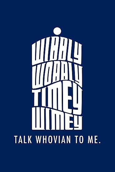 Talk Whovian To Me by trekvix
