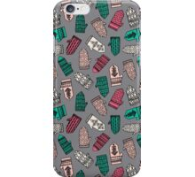 Mittens - Slate by Andrea Lauren  iPhone Case/Skin