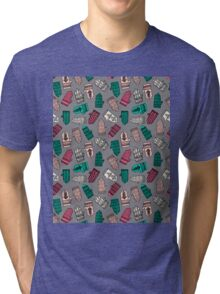 Mittens - Slate by Andrea Lauren  Tri-blend T-Shirt