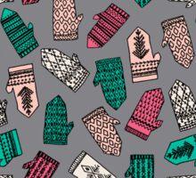 Mittens - Slate by Andrea Lauren  Sticker