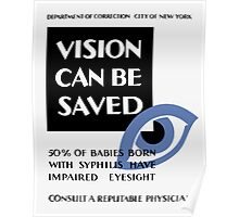 Vision Can Be Saved -- WPA Poster