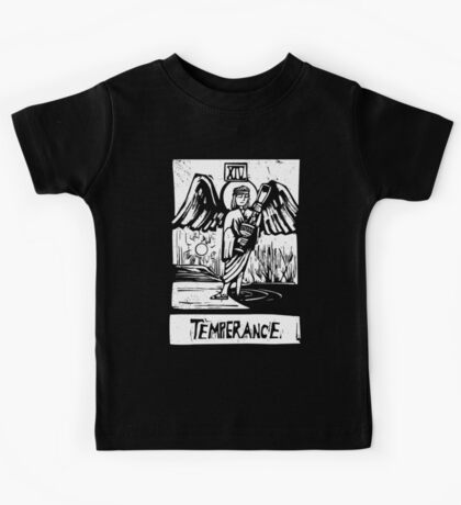 Temprence  - Tarot Cards - Major Arcana Kids Tee