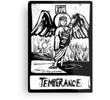 Temprence  - Tarot Cards - Major Arcana Metal Print
