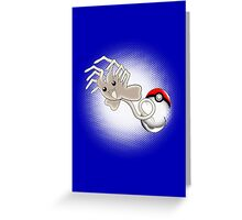 Xenomon Greeting Card