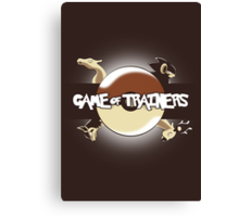 Game of Masters Canvas Print