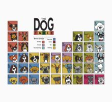 The Dog Table Top 40 by Angry Squirrel Studio