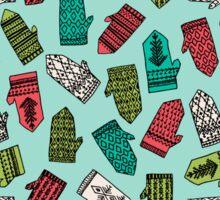 Mittens - Mint by Andrea Lauren  Sticker