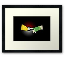 The Creation of Friendship Framed Print