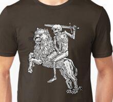 Death Rides A Lion Unisex T-Shirt