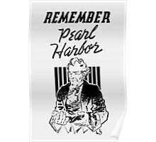 Uncle Sam -- Remember Pearl Harbor  Poster