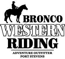 Western Riding Photographic Print