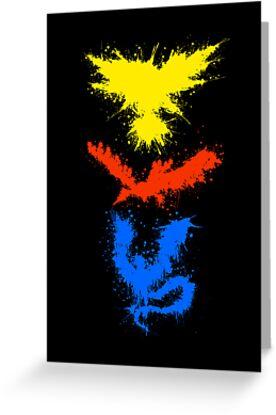 Legendary Bird Splatter by trekvix