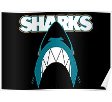 In the Jaws of the Sharks Poster