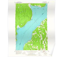 USGS Topo Map Washington State WA Lofall 242027 1953 24000 Poster