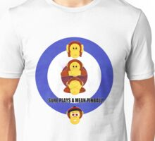 Pinball Monkey Wizard! Unisex T-Shirt