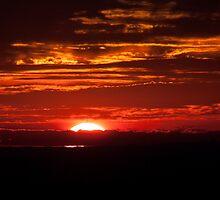 Flaming Skies by Alex  Motley