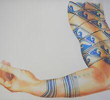 Tattooed Arm #3 by janfitc