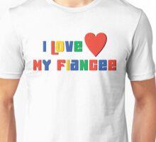 """Engaged """"I Love My Fiancee"""" Unisex T-Shirt"""