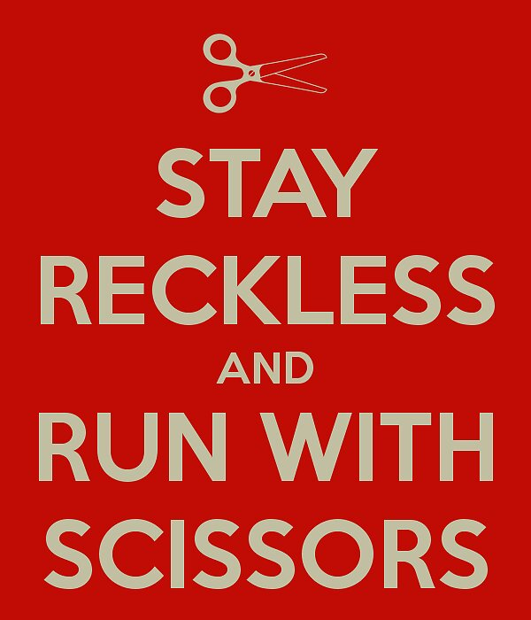 Run With Scissors by TheSaltySeal