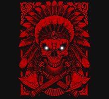 Chief Indian Skull Unisex T-Shirt