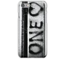 One Heart  iPhone Case/Skin