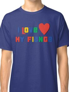 "Engaged ""I Love My Fiance"" Classic T-Shirt"