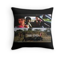 Death Proof Second-Half Girls Throw Pillow
