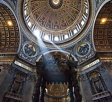 St. Peter's Cathedral, Rome  by Nickfree1