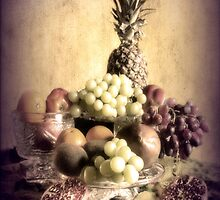 Vintage style Still life. by Irene  Burdell