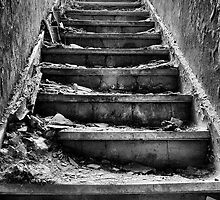 Light At The Top Of The Stairs by Dave Godden