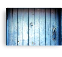 What's Behind Gate Number 4? Canvas Print