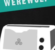 Little Werewolf Oven Sticker
