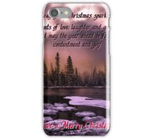 Card #445TY iPhone Case/Skin