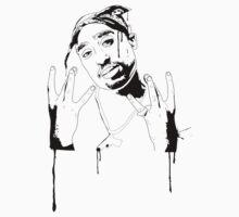 Tupac  by Noire Studios