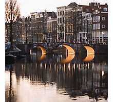 Three Arches in Amsterdam Photographic Print