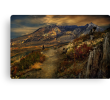 Mt St Helens from Windy Ridge Canvas Print